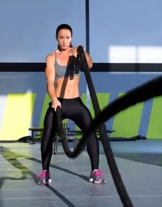 Battle Ropes Poly Dacron - Exercise Workout Strength Training Undulation Ropes