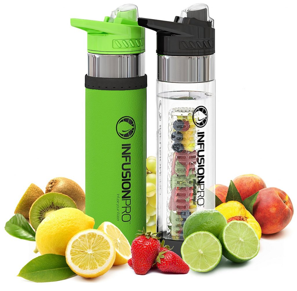 Infusion Pro Premium Fruit Infused Water Bottle