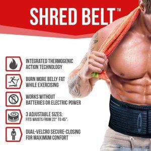 shred belt waist trimmer