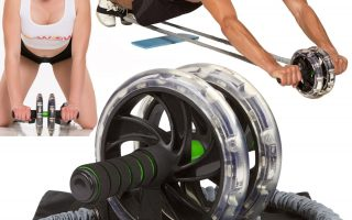 AB WOW 3000 Abdominal Workout Wheel Roller