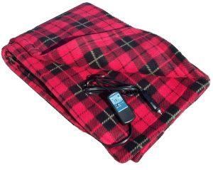 Heated Fleece Travel Electric Blanket trillium