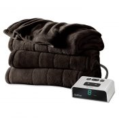 Sunbeam Microplush Heated Blanket
