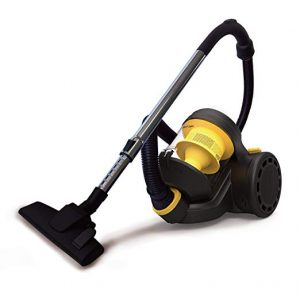 Raceup bagless canister cyclonic vacuum cleaner