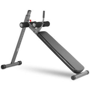 XMark Fitness 12 Position Ergonomic Adjustable Decline Ab Bench
