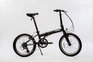 EuroMini ZiZZO Urbano 24lb Lightest Aluminum Frame Genuine Shimano 8-Speed Folding Bike