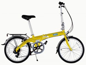Ford by Dahon Convertible 7 Speed Folding Bicycle